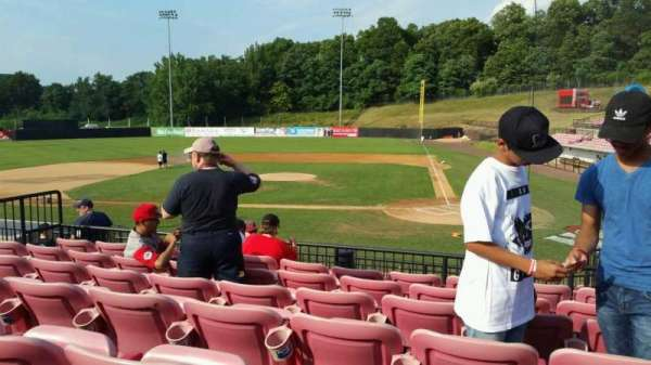 Yogi Berra Stadium, section: FF, row: 7, seat: 12