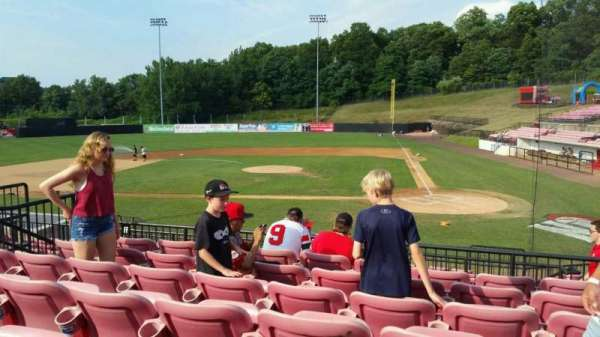 Yogi Berra Stadium, section: FF, row: 7, seat: 10