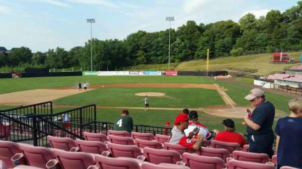 Yogi Berra Stadium, section: FF, row: 7, seat: 8