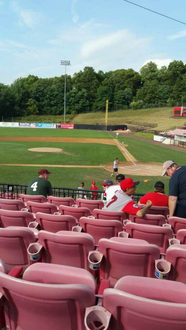 Yogi Berra Stadium, section: FF, row: 7, seat: 7