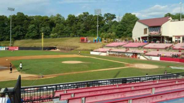 Yogi Berra Stadium, section: DD, row: 7, seat: 1