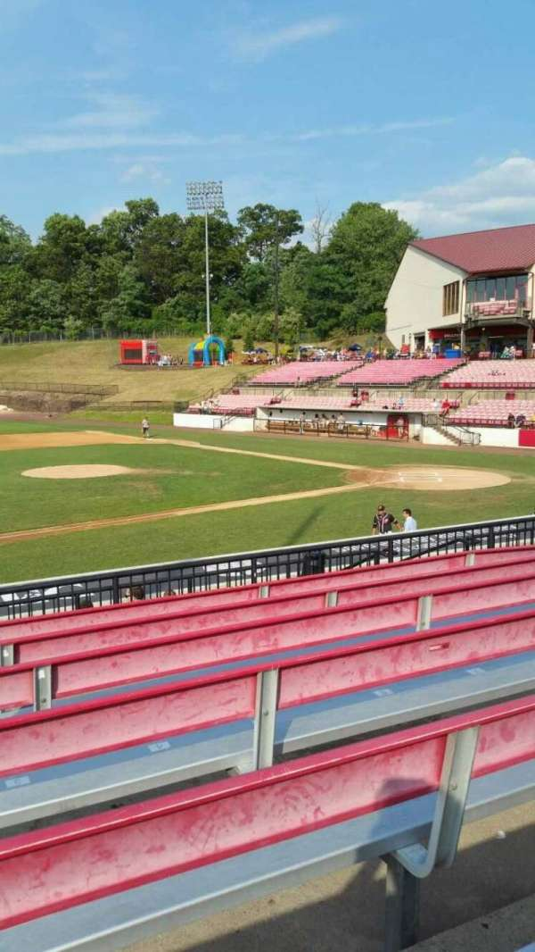 Yogi Berra Stadium, section: DD, row: 7, seat: 2