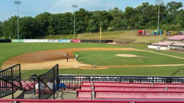 Yogi Berra Stadium, section: DD, row: 7, seat: 3