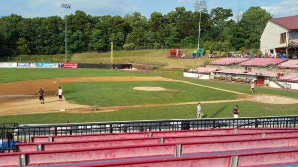 Yogi Berra Stadium, section: DD, row: 7, seat: 5