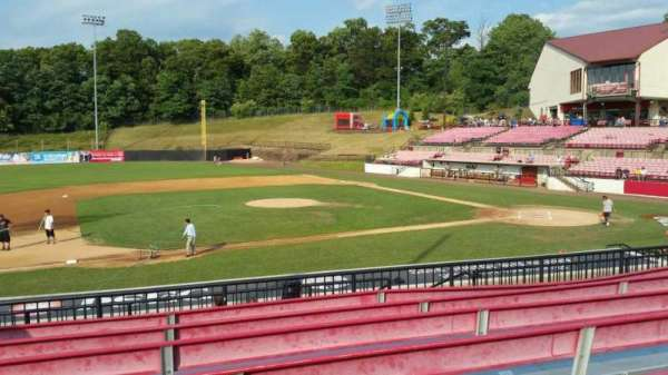 Yogi Berra Stadium, section: DD, row: 7, seat: 7
