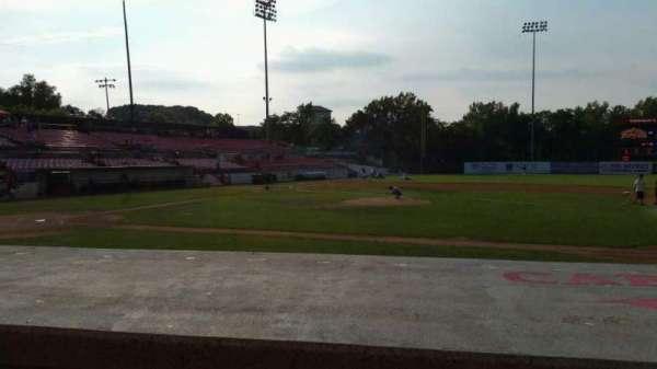 Yogi Berra Stadium, section: L, row: 5, seat: 13