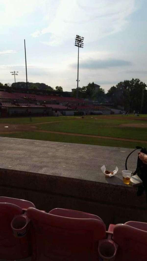 Yogi Berra Stadium, section: L, row: 5, seat: 8