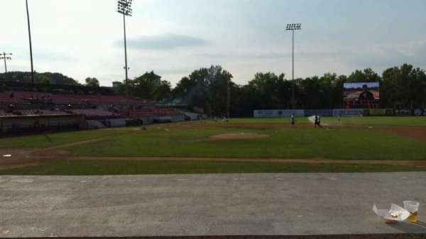 Yogi Berra Stadium, section: L, row: 5, seat: 5