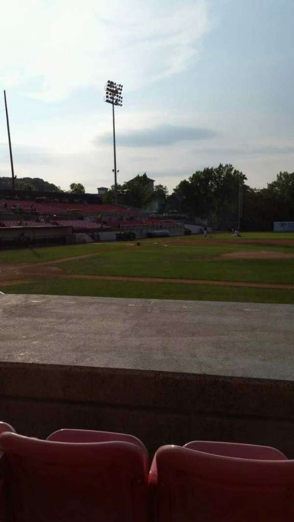 Yogi Berra Stadium, section: L, row: 5, seat: 4