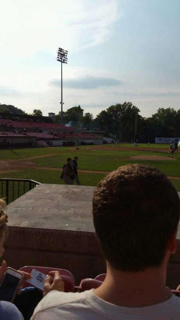 Yogi Berra Stadium, section: L, row: 5, seat: 2