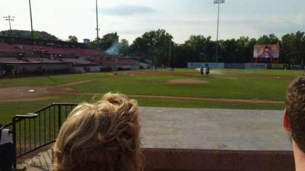 Yogi Berra Stadium, section: L, row: 5, seat: 1