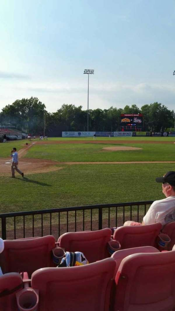Yogi Berra Stadium, section: K, row: 4, seat: 6