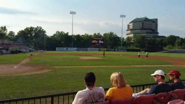 Yogi Berra Stadium, section: K, row: 4, seat: 7