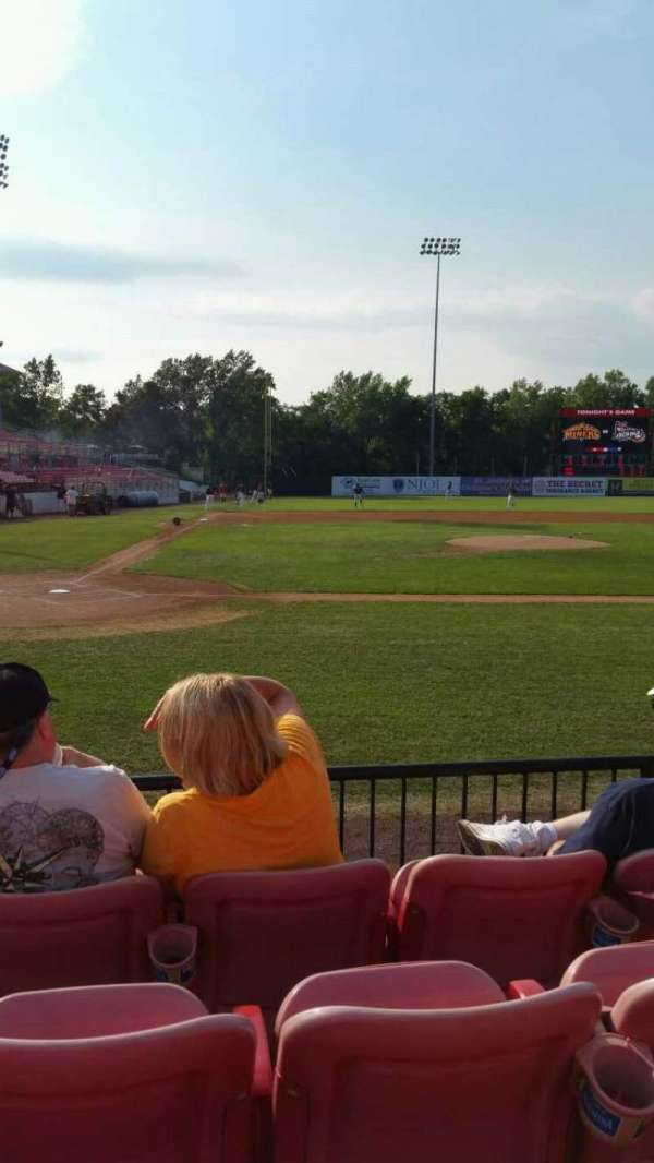 Yogi Berra Stadium, section: K, row: 4, seat: 10