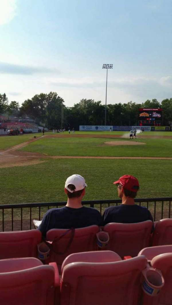 Yogi Berra Stadium, section: K, row: 4, seat: 12