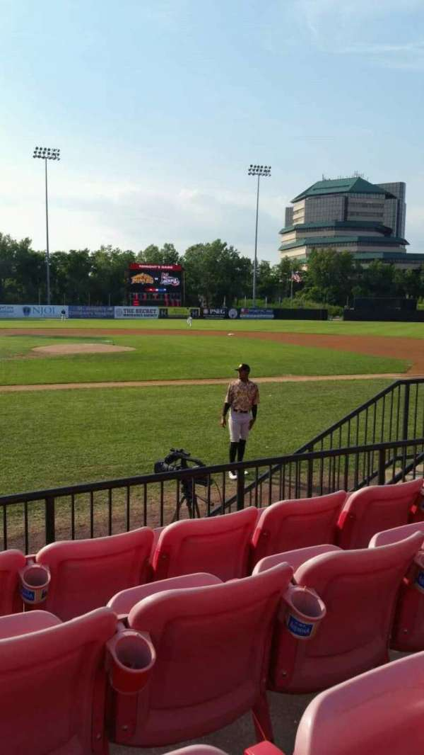 Yogi Berra Stadium, section: K, row: 4, seat: 14