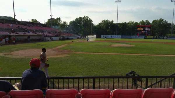 Yogi Berra Stadium, section: K, row: 4, seat: 15