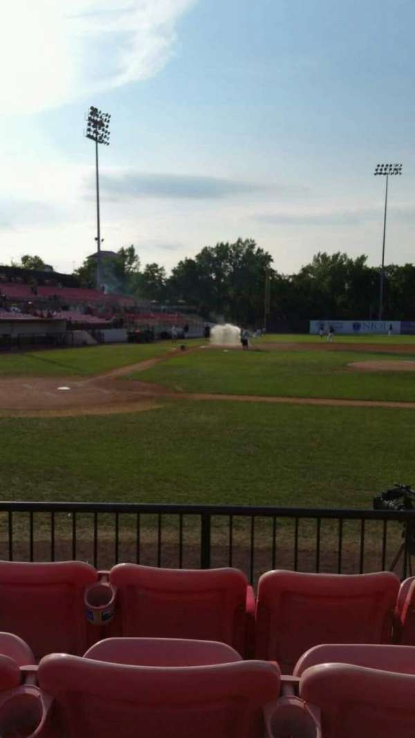 Yogi Berra Stadium, section: K, row: 4, seat: 16