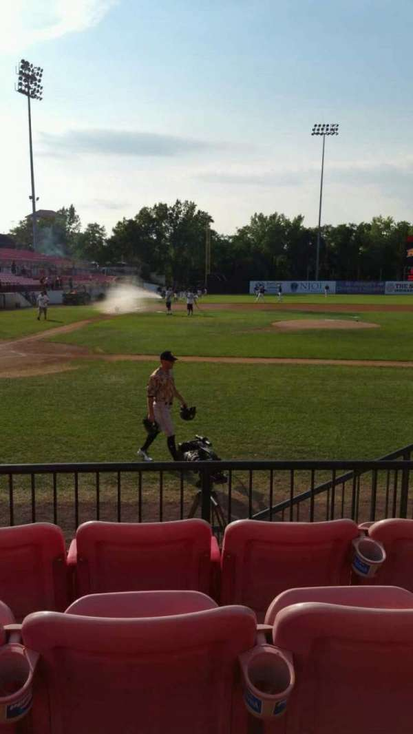 Yogi Berra Stadium, section: K, row: 4, seat: 18