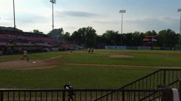 Yogi Berra Stadium, section: K, row: 4, seat: 19