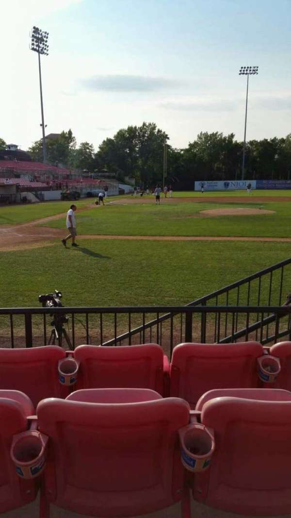 Yogi Berra Stadium, section: K, row: 4, seat: 20