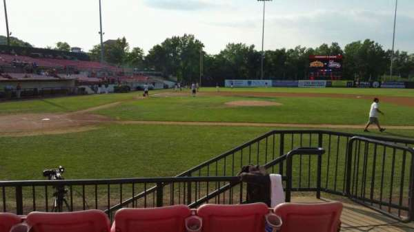 Yogi Berra Stadium, section: K, row: 4, seat: 21