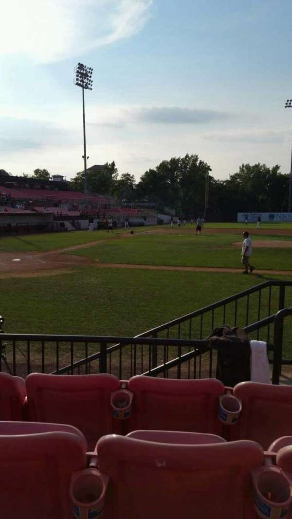 Yogi Berra Stadium, section: K, row: 4, seat: 22