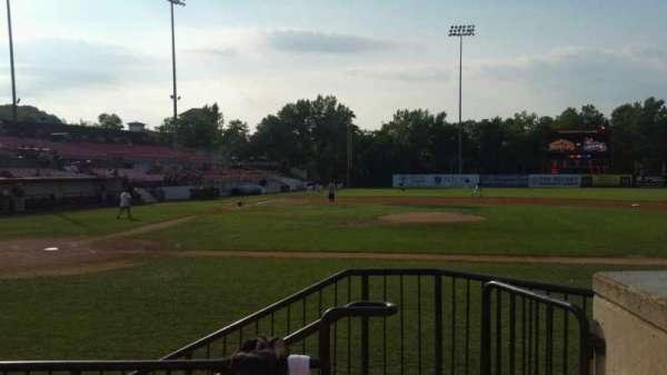 Yogi Berra Stadium, section: K, row: 4, seat: 23