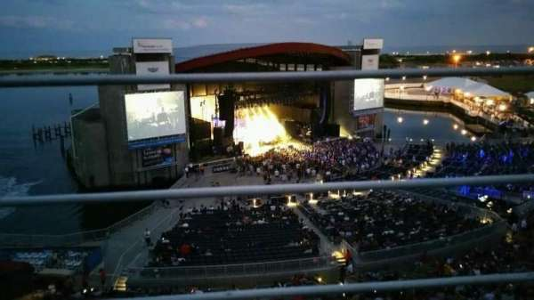 Jones Beach Theater, section: 26, row: A, seat: 7