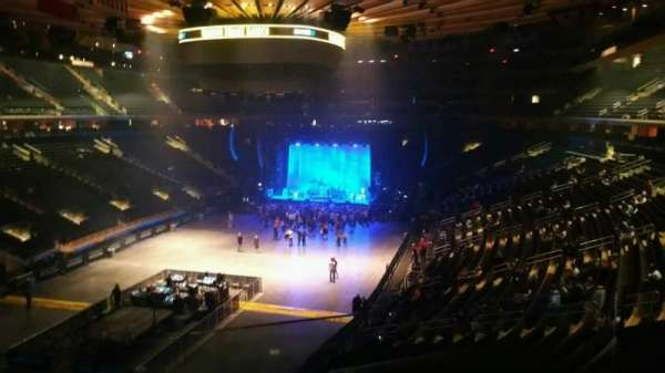 Madison Square Garden, section: 206, row: 2, seat: 6