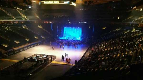 Madison Square Garden, section: 206, row: 2, seat: 8