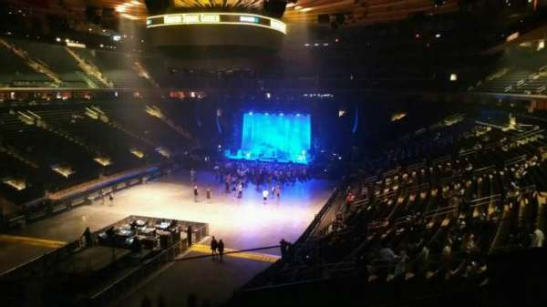 Madison Square Garden, section: 206, row: 2, seat: 10
