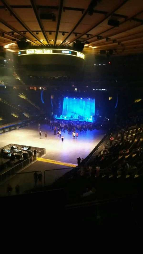 Madison Square Garden, section: 206, row: 2, seat: 11