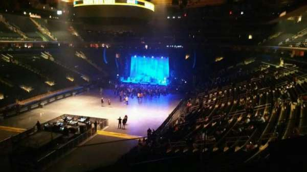 Madison Square Garden, section: 206, row: 2, seat: 12