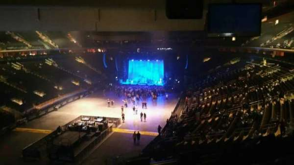 Madison Square Garden, section: 206, row: 5, seat: 3