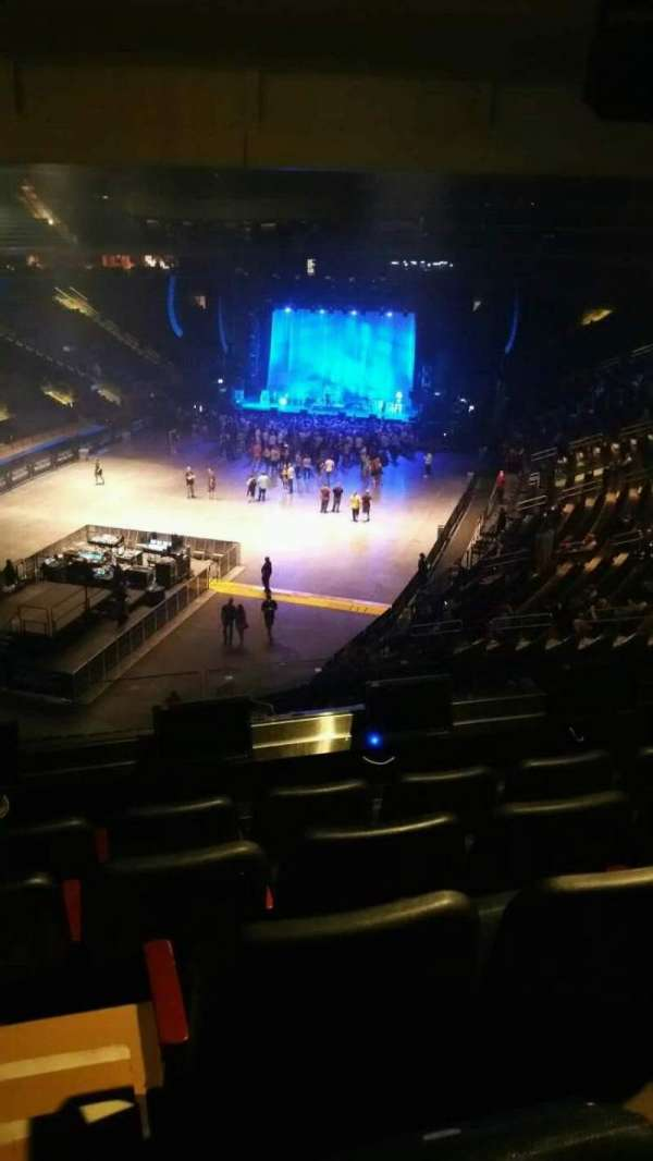 Madison Square Garden, section: 206, row: 5, seat: 2