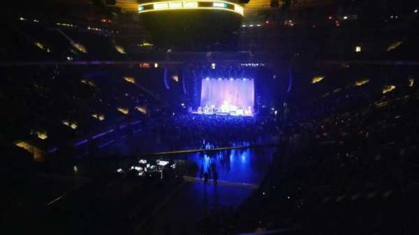 Madison Square Garden, section: 206, row: 1, seat: 1
