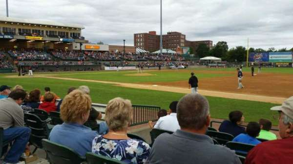 Fairfield Properties Ballpark, section: 112, row: G, seat: 17
