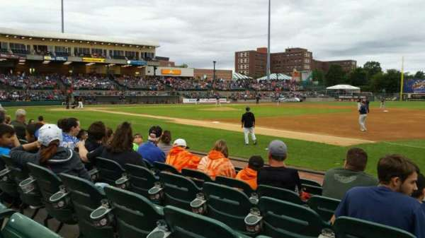 Fairfield Properties Ballpark, section: 112, row: G, seat: 8