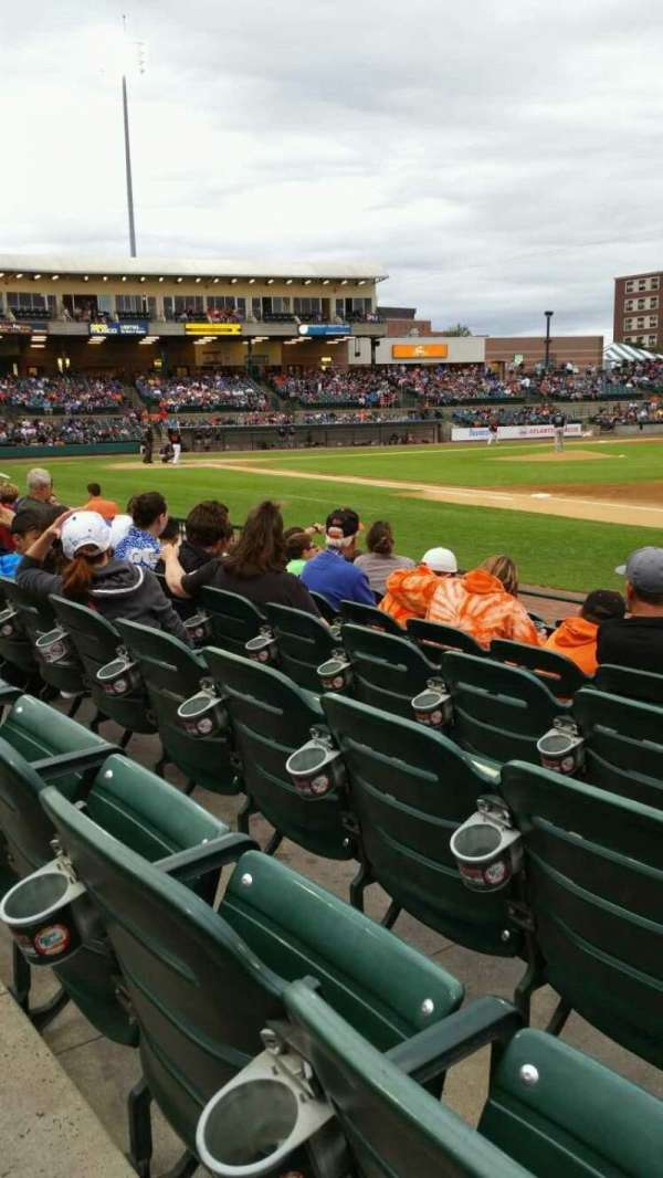 Fairfield Properties Ballpark, section: 112, row: G, seat: 7