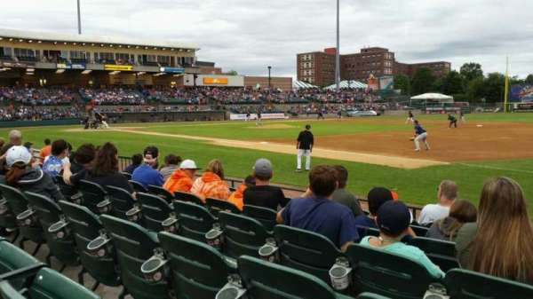 Fairfield Properties Ballpark, section: 112, row: G, seat: 6