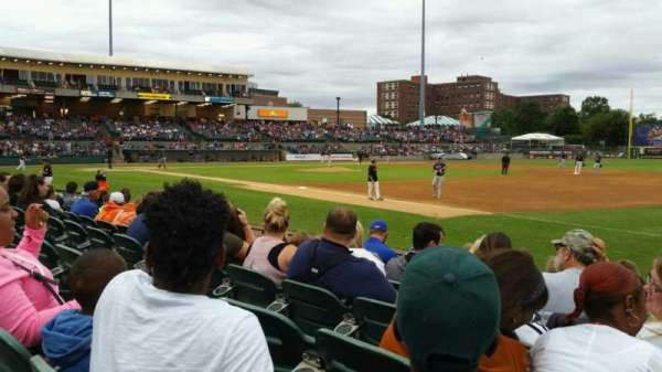 Fairfield Properties Ballpark, section: 112, row: G, seat: 1
