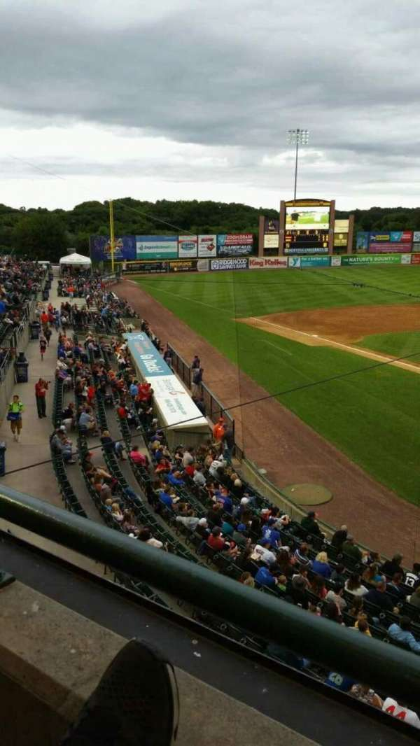 Fairfield Properties Ballpark, section: 402, row: A, seat: 14