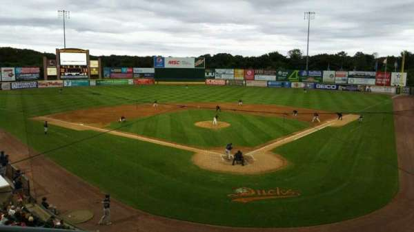 Fairfield Properties Ballpark, section: 402, row: A, seat: 13