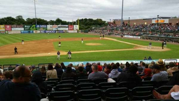 Fairfield Properties Ballpark, section: 207, row: V, seat: 16