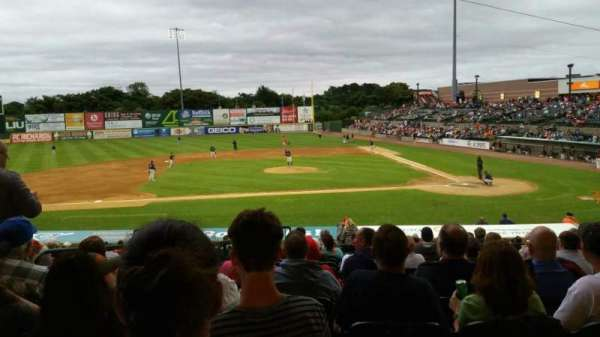 Fairfield Properties Ballpark, section: 205, row: V, seat: 17