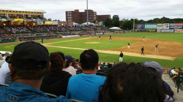 Fairfield Properties Ballpark, section: 210, row: V, seat: 1