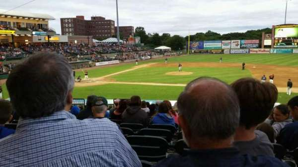 Fairfield Properties Ballpark, section: 208, row: V, seat: 15