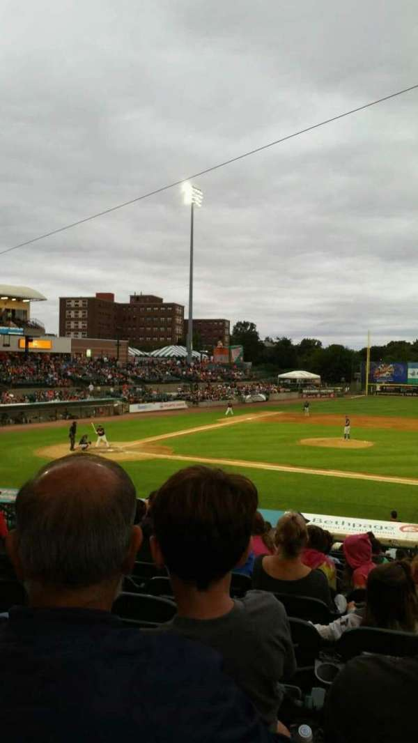 Fairfield Properties Ballpark, section: 208, row: V, seat: 13