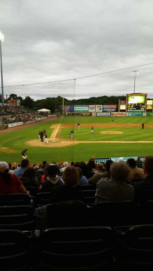 Fairfield Properties Ballpark, section: 204, row: V, seat: 8